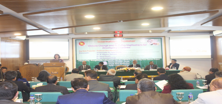 International seminar arranged by BIAM Foundation
